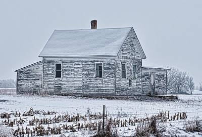 Photograph - Winter House by Don Durfee