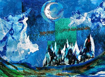 Winter Hues Art Print by Rahdne Zola