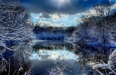 Winter In April 2014 Art Print
