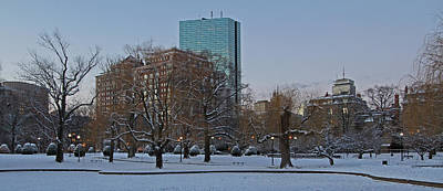 Photograph - Winter In Boston by Juergen Roth