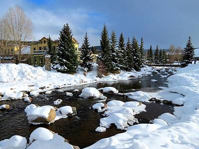 Ski Resort Photograph - Winter In Breckenridge by Connor Beekman