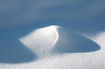 Winter In British Columbia Brings Art Print by Richard Wright