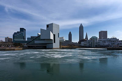 Photograph - Winter In Cleveland by Dale Kincaid