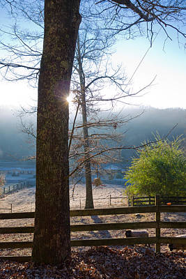 Photograph - Winter In Clinton Tennessee by Melinda Fawver