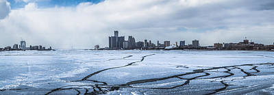 Photograph - Winter In Detroit  by John McGraw
