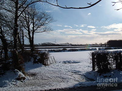 Photograph - Winter In Devon  by Richard Brookes