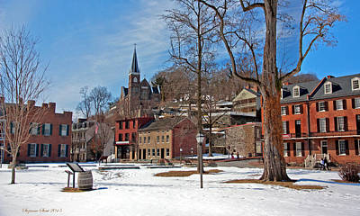 Photograph - Winter In Harpers Ferry by Suzanne Stout