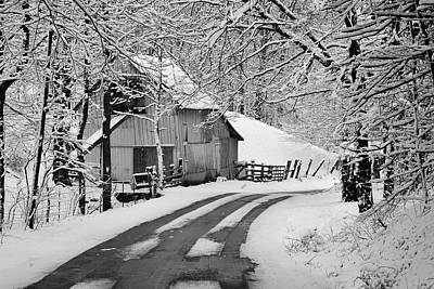 Photograph - Winter In Indiana by Walt Sterneman