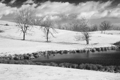 Winter In Kentucky Art Print by Wendell Thompson