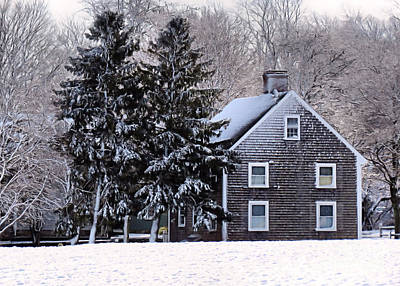 Photograph - Winter In New England by Janice Drew