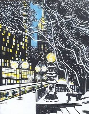 Winter In Nyc Original by Tony Beo
