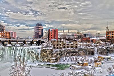 Winter In Rochester Art Print