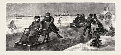 Winter In Russia Art Print