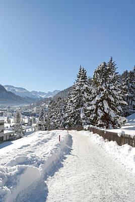 Photograph - Winter In Switzerland by Design Windmill