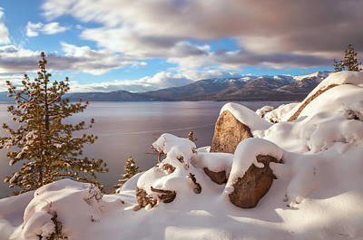Photograph - Winter In Tahoe by Jonathan Nguyen
