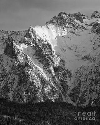 Photograph - winter in the Bavarian alps 4 by Rudi Prott