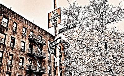 Kitchen Collection - Winter in the Bronx by Paulo Guimaraes