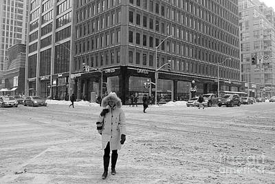 Photograph - Winter In The City by Nina Silver