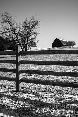 Photograph - Winter In The Country by Imagery by Charly