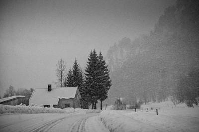 Winter In The Countryside Art Print by Mirra Photography