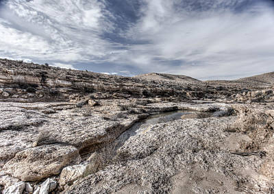 Photograph - Winter In The Desert by Uri Baruch
