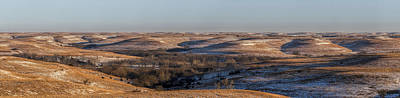 Photograph - Winter In The Flint Hills Of Kansas by Scott Bean