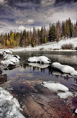 Photograph - Winter In The High Country by Ellen Heaverlo