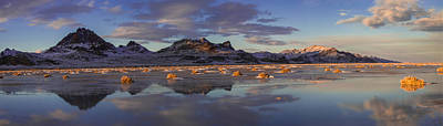 Bonneville Photograph - Winter In The Salt Flats by Chad Dutson