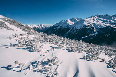 Photograph - Winter In Tirol by Soren Egeberg