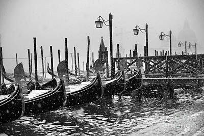 Winter In Venice Art Print