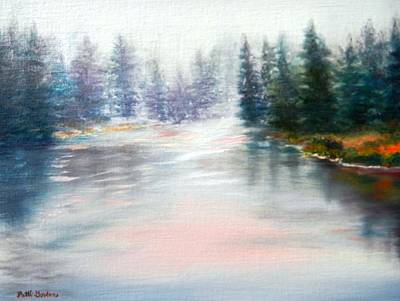Painting - Winter Interlude by Patti Gordon