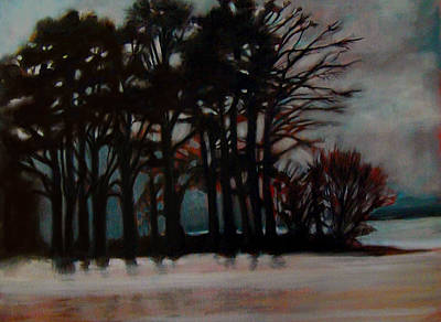 Painting - Winter by Irena Mohr