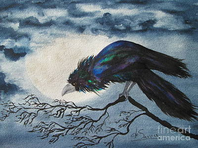 Painting - Winter Is Coming by Diane DeSavoy