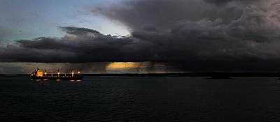 Merchant Mariners Photograph - Winter Is Coming by Tim  Telep