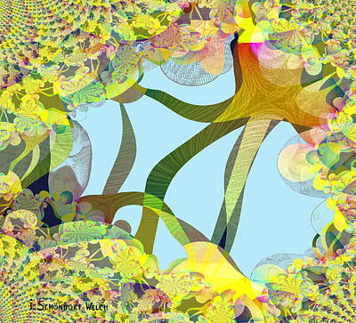 Inuu Digital Art - Winter Is Over - 515 by Irmgard Schoendorf Welch