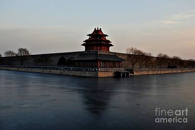 Photograph - Winter Landscape 1 - Forbidden City by Dean Harte