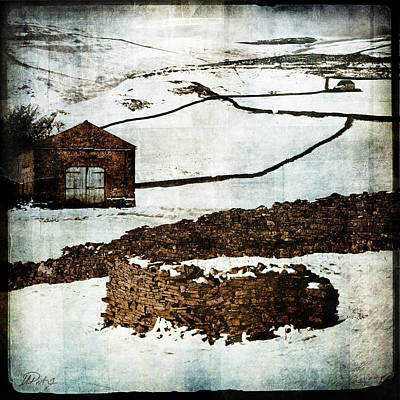 Winter Landscape 2 Print by Mark Preston