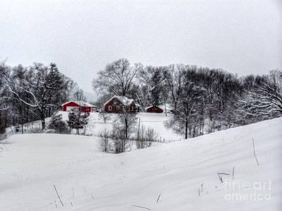 Winter Landscape 5 Art Print