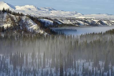 Winter Landscape Art Print by Christian Heeb