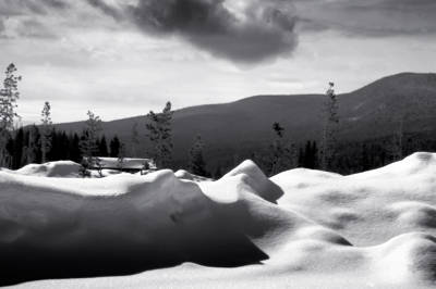 Photograph - Winter Landscape by Ellen Heaverlo