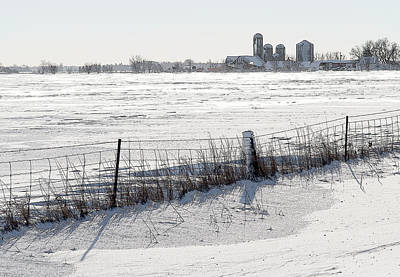 Photograph - Winter Landscape In The Ottawa Valley by Rob Huntley