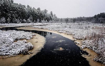 Winter Landscape Art Print by Louis Dallara
