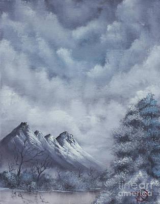 Winter Landscape Art Print by Troy Wilfong