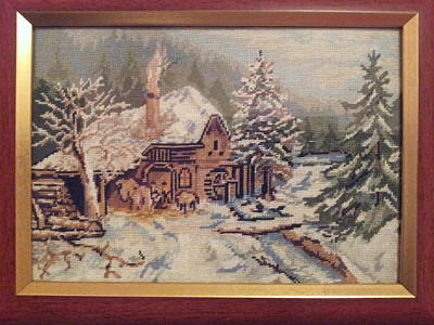 Winter Landscape Original