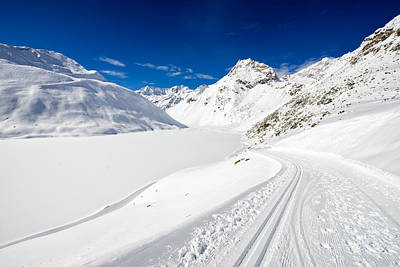 Photograph - Winter Landscape With Lots Of Snow Austria by Matthias Hauser