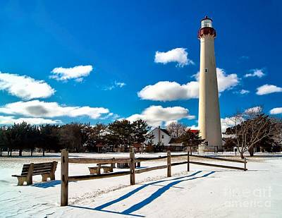 Photograph - Winter Light At Cape May by Nick Zelinsky