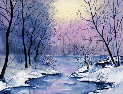 Painting - Winter Light by Brenda Owen
