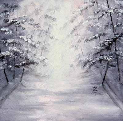 Painting - Winter Light by Meaghan Troup