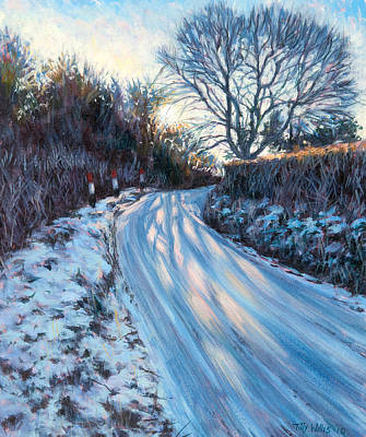 Winter Light Print by Tilly Willis