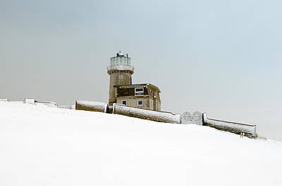 Photograph - Winter Lighthouse by Mick House